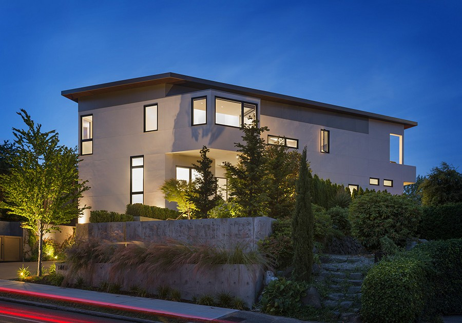 Street view of the Madrona Private House