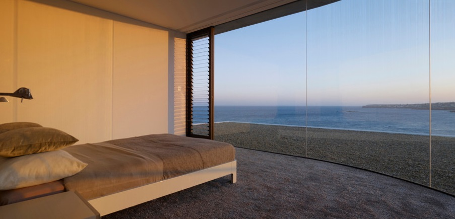 Sydney bedroom with a view