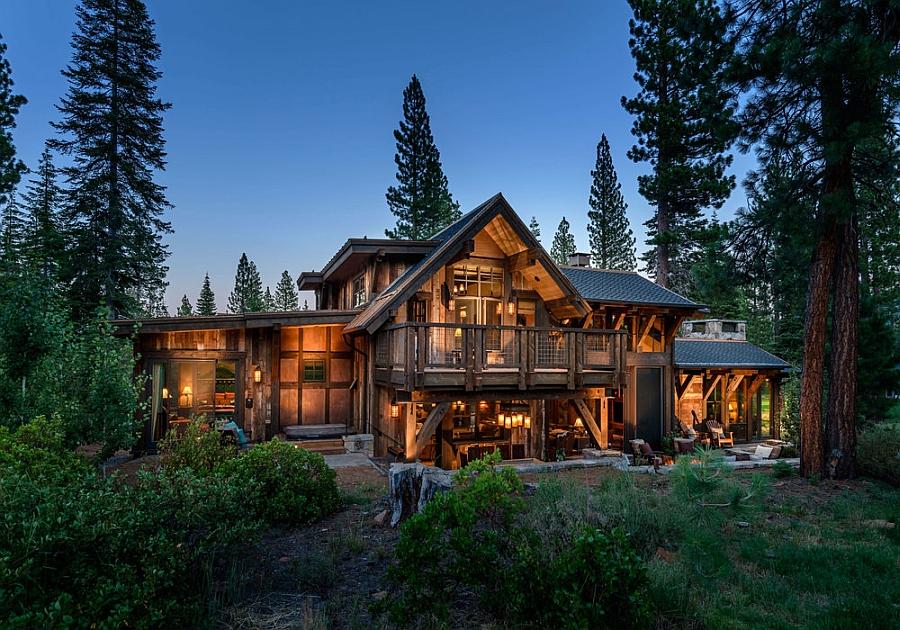 Austin Cabin in the Martis Camp development near Lake Tahoe