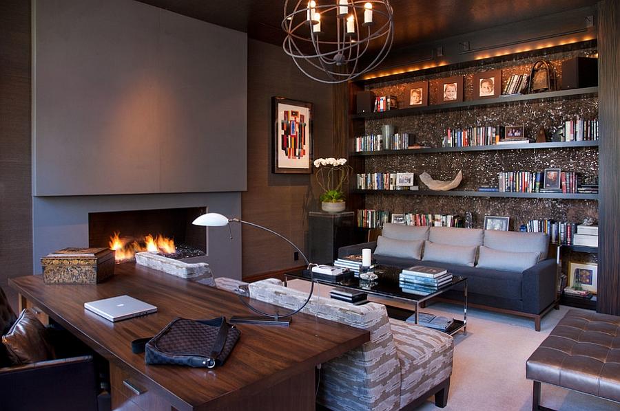 Decorate the room in a pleasant fashion