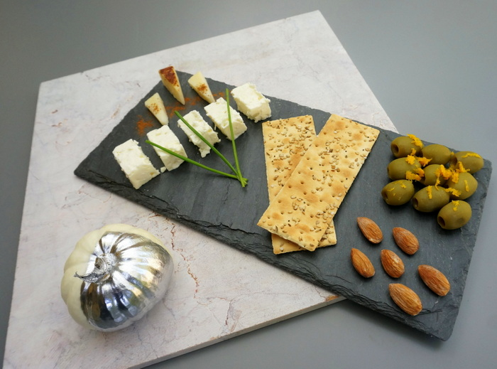 Thanksgiving cheese plate idea