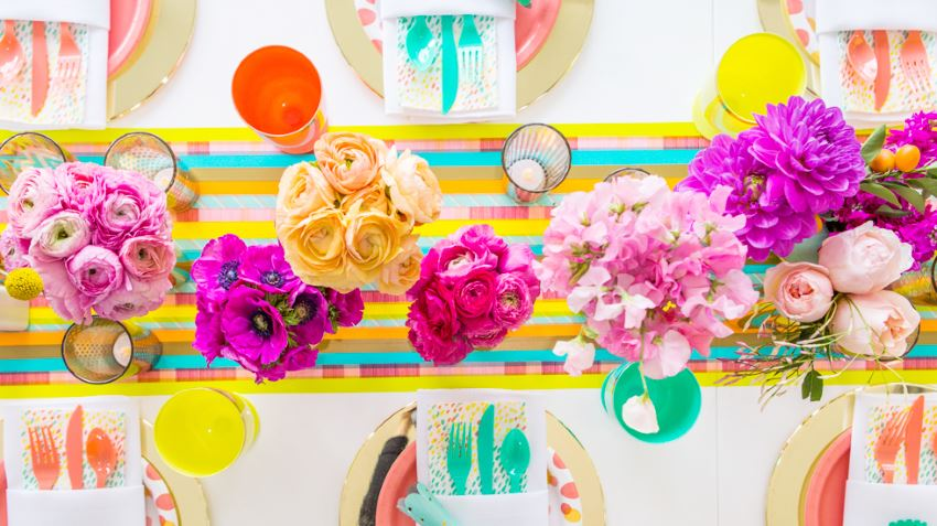 Party supplies by Joy Cho of Oh Joy!