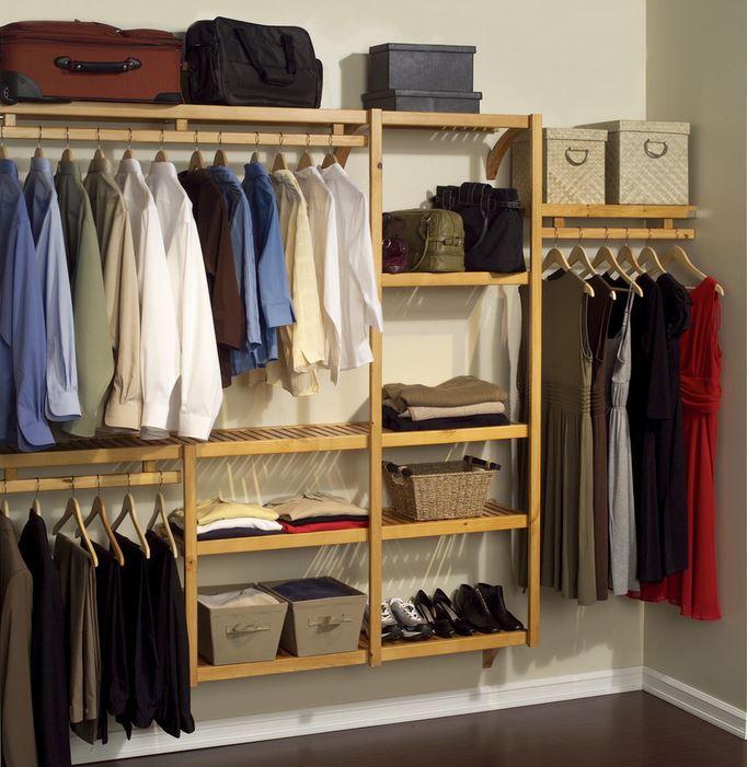 A closet organization project