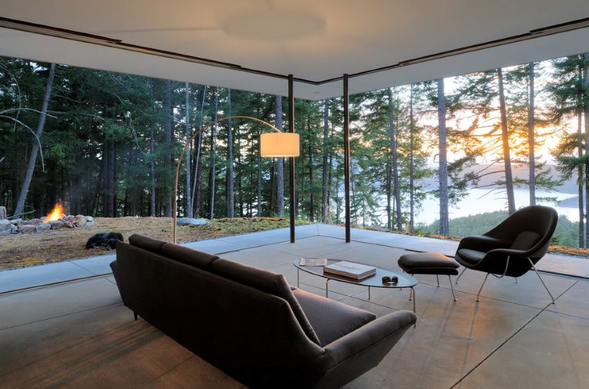 Contemporary Seattle living room