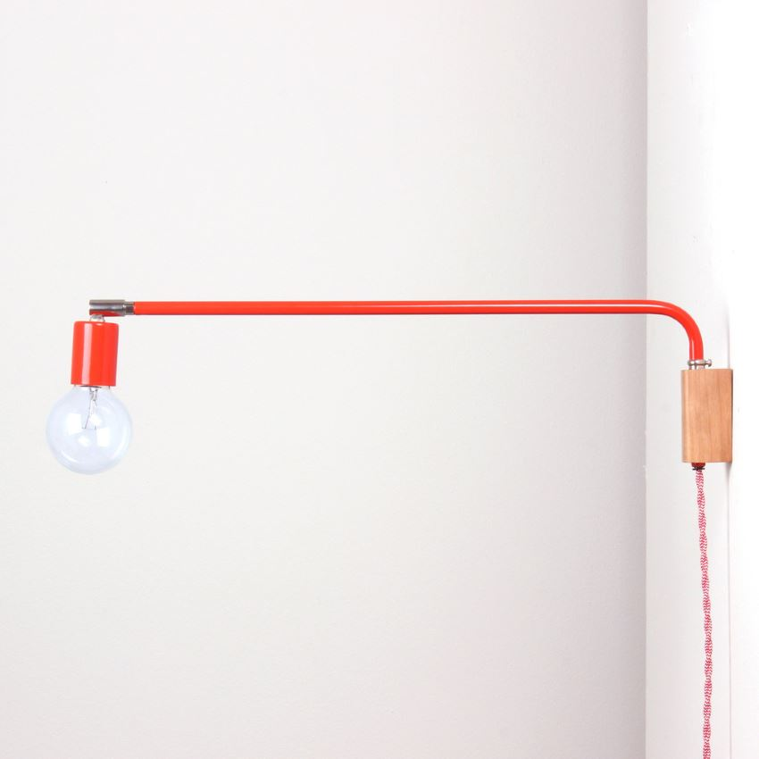 Modern swing lamp from onefortythree