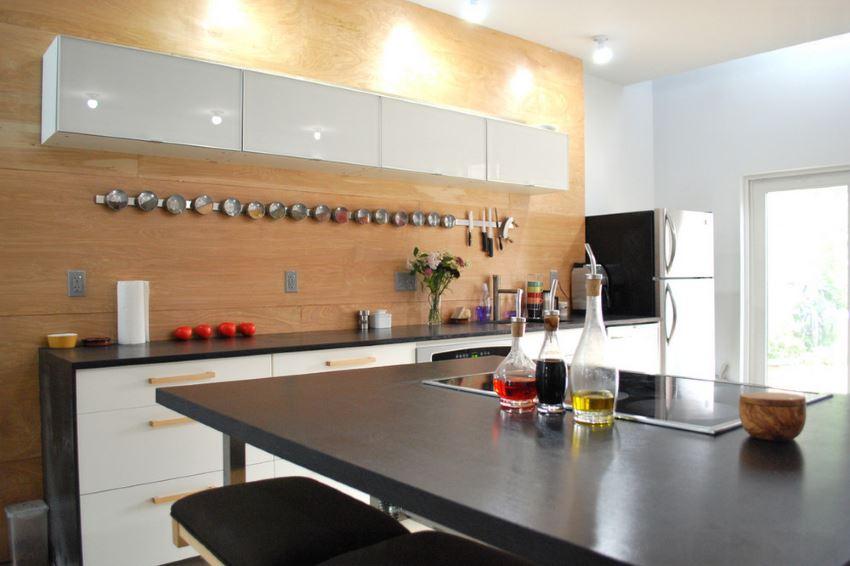 Organized kitchen space