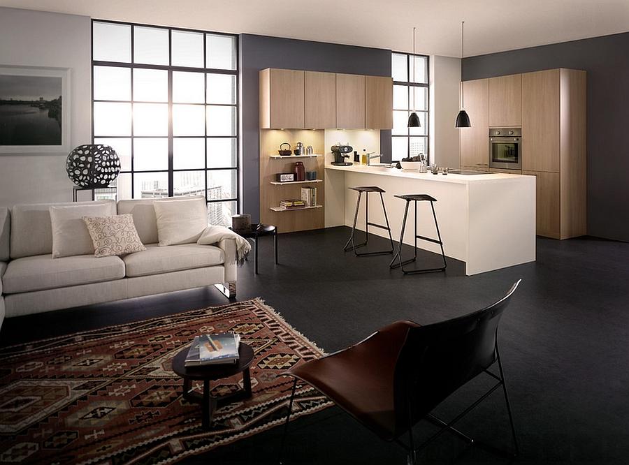 Sleek Kanto kitchen for the smart modern home
