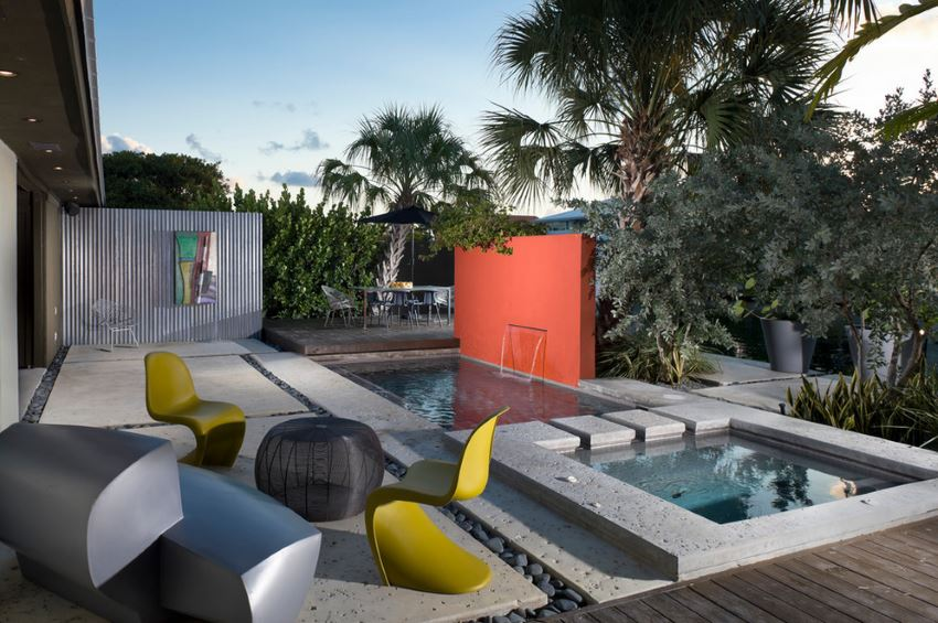 Stunning outdoor space by Burle Yates Design