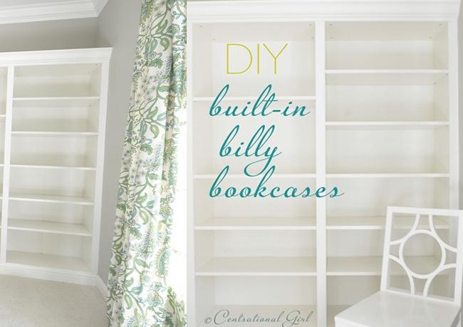 Billy IKEA Built in Bookcase