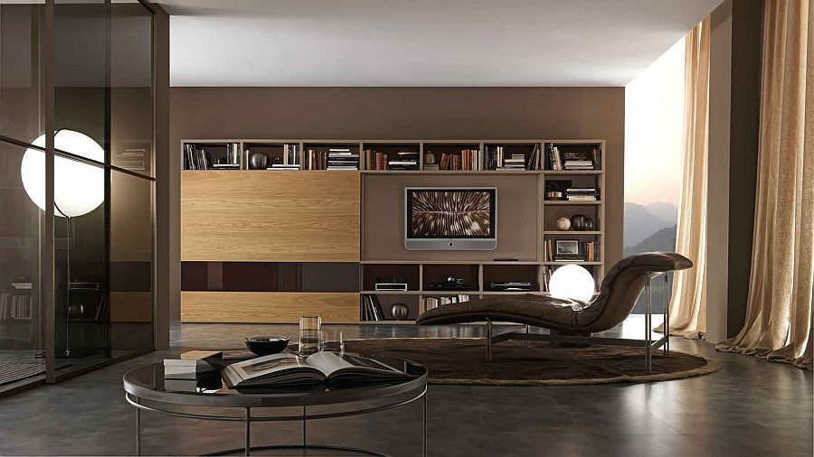 A perfect living room design idea for the modern bachelor pad