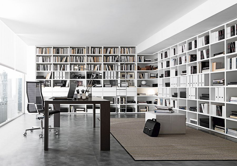 Smart and organized storage system for the home office