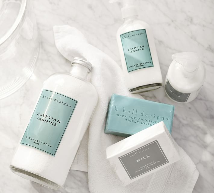 Bath products from Pottery Barn