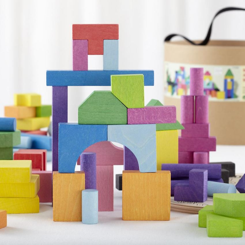 Building blocks from The Land of Nod
