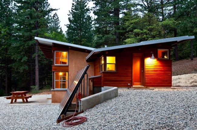 Chalk Hill Cabin Rear