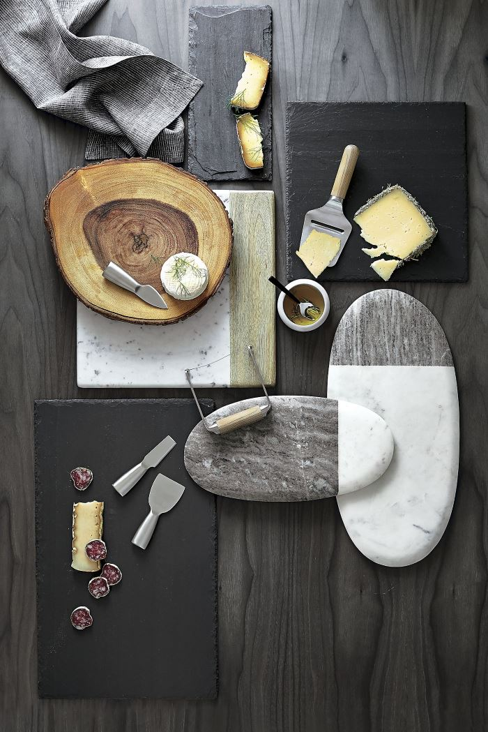 Cheese boards from Crate & Barrel
