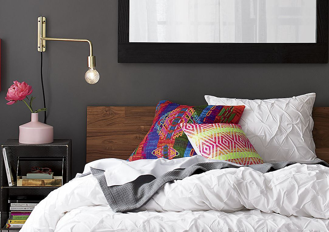 Colorful pillows from CB2