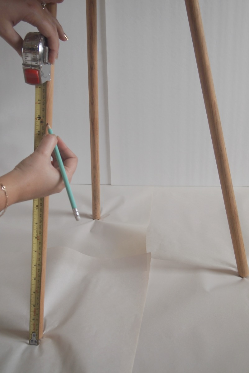 measure height for painting