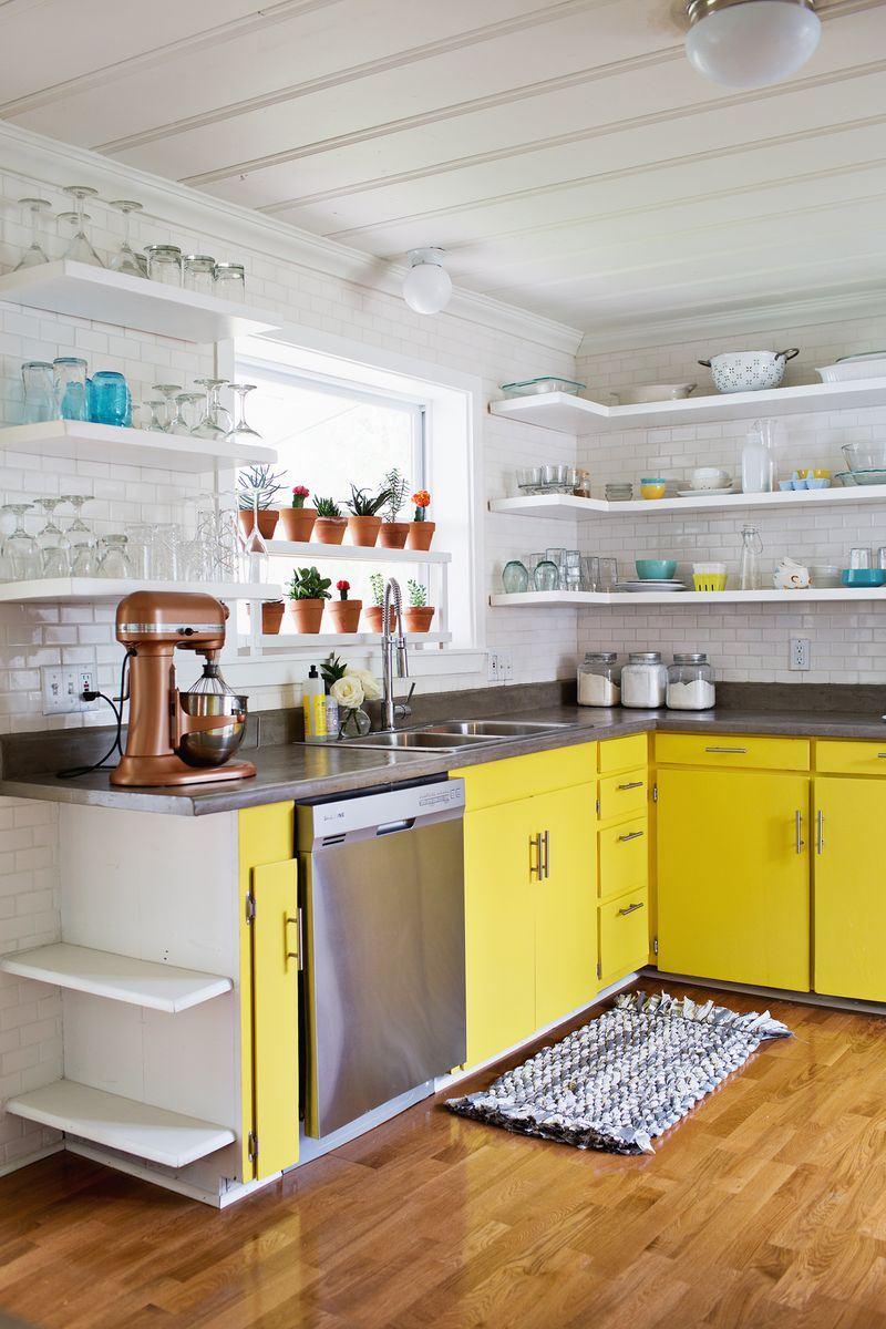 A Beautiful Mess kitchen renovation