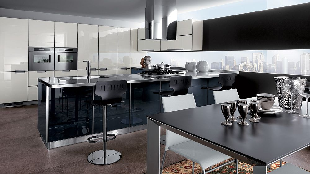 Anthracite grey brings sophistication to the Crystal kitchen