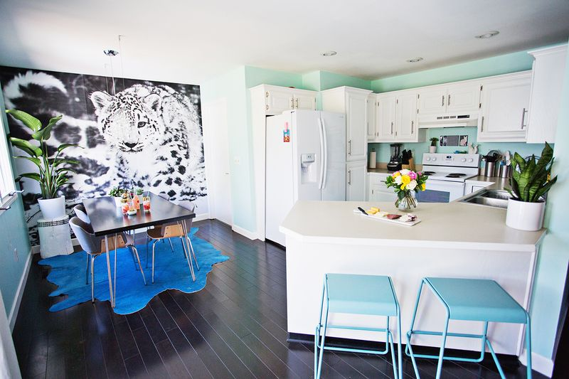Kitchen and dining room renovation of Laura Gummerman
