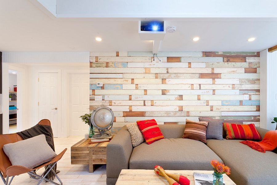 Lovely living room captures the breezy summer style to perfection