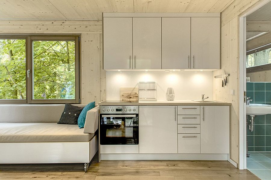 Small kitchen design makes wonderful use of available space