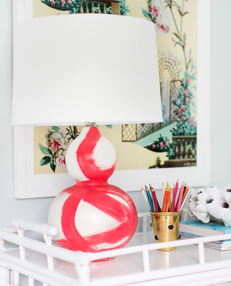 Brushstroke lamp from Bek Design