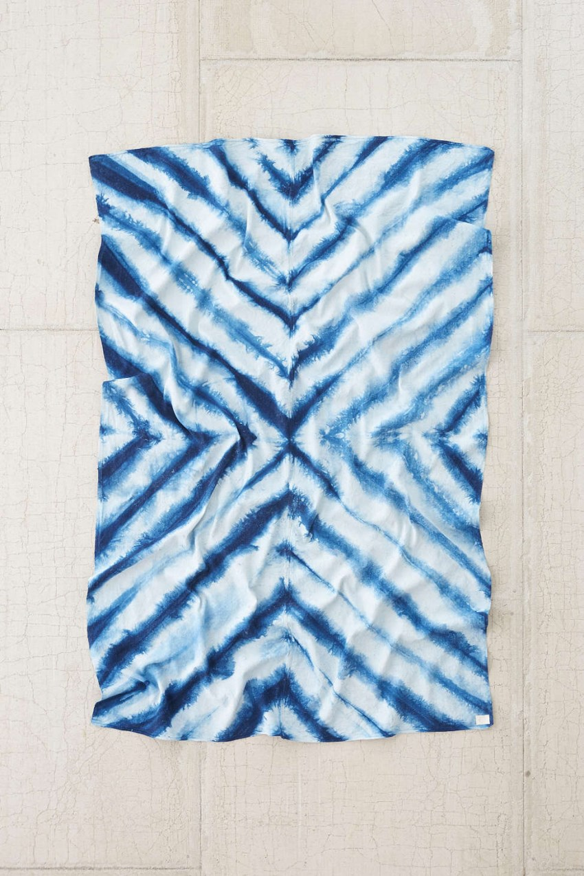 Dyed linen blanket from Urban Outfitters