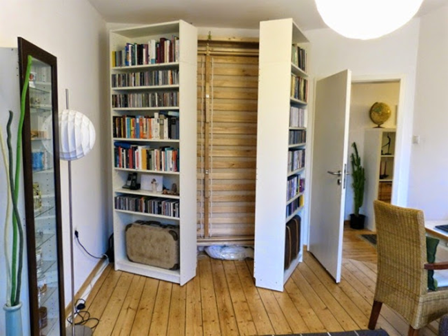 IKEA Billy Bookshelf Hidden Bed