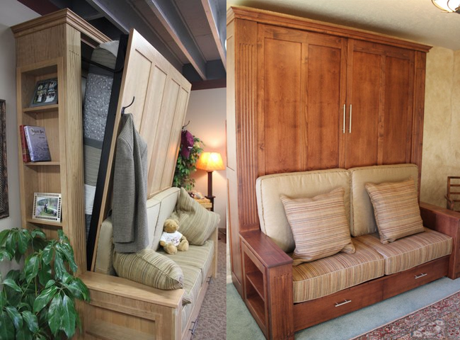 Murphy Beds That Double as Sofas