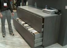 Mechanized Cabinets from Bauformat, Have Sleek Design, Sustain Heavy Weights