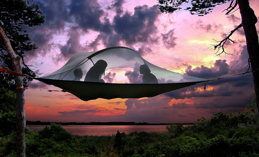 Sepnd the lazy summer evenings under the stars with Tensile tent