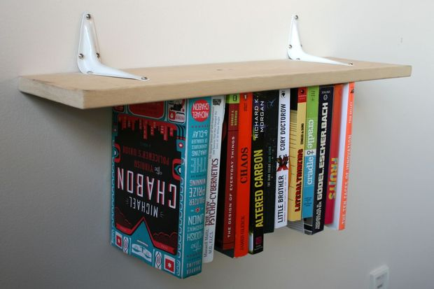 bookshelves inverted