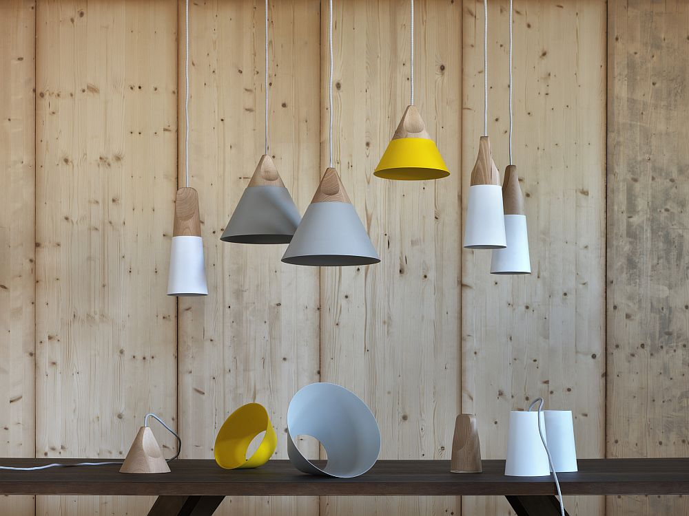 Slope by Skrivo Design for Miniforms in wood and metal