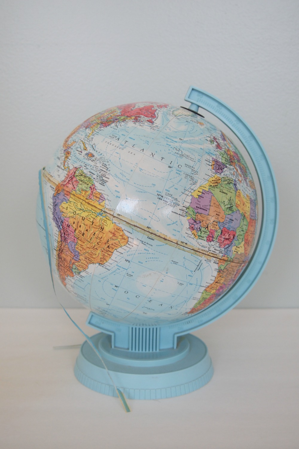 Globe before the makeover