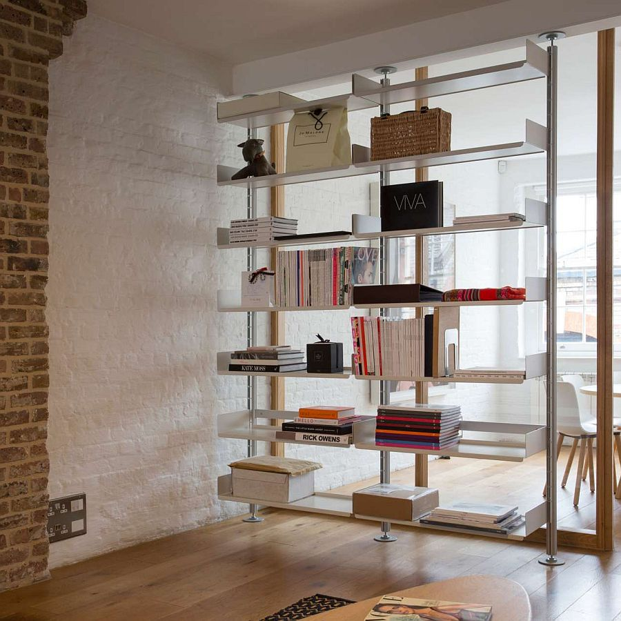 606 Universal Shelving System designed by Dieter Rams in 1960