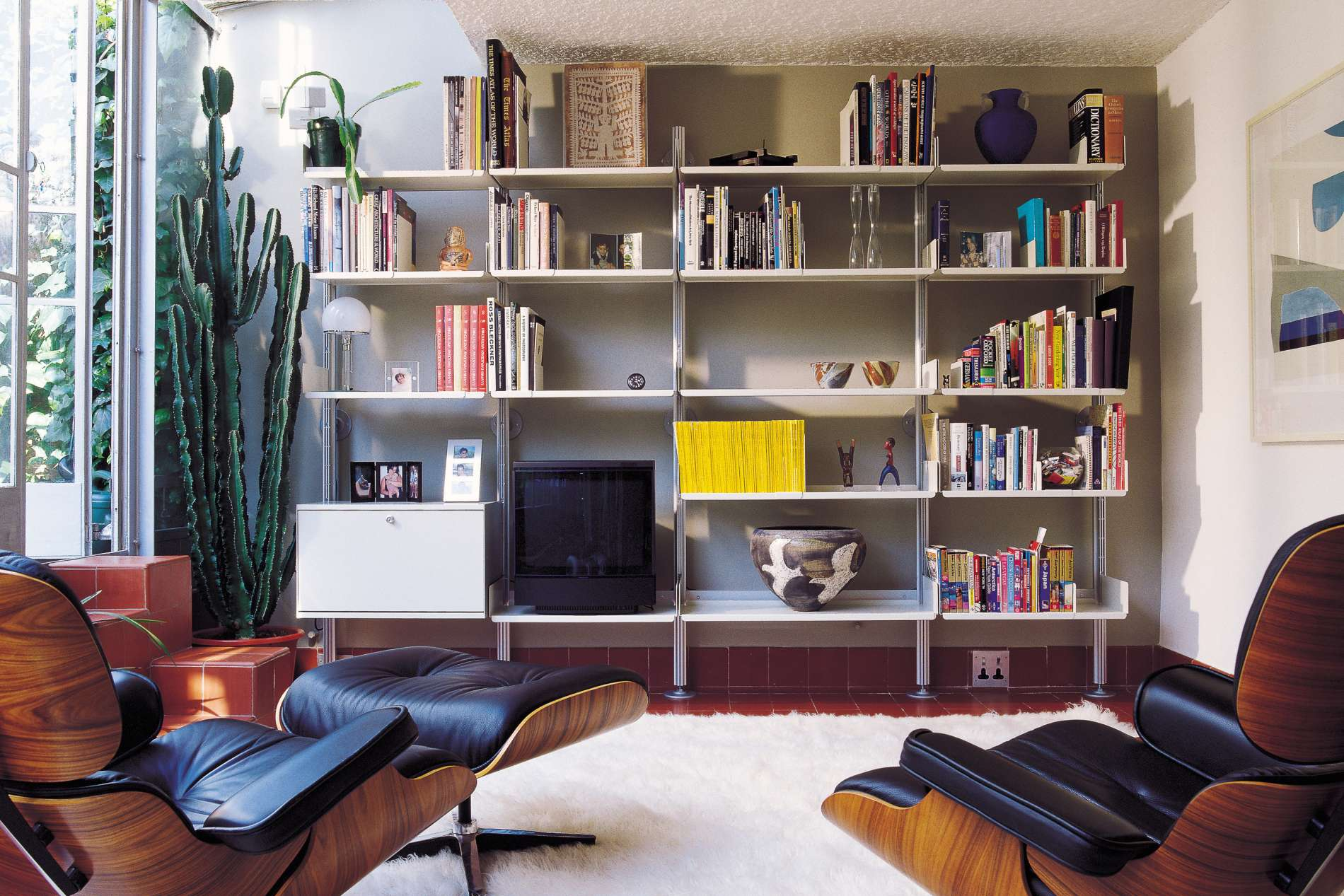 606 Universal Shelving System living space