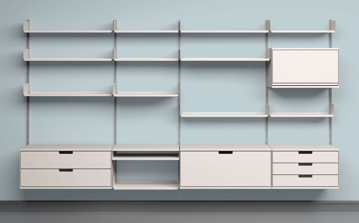 606 Universal Shelving Unit by Dieter Rams
