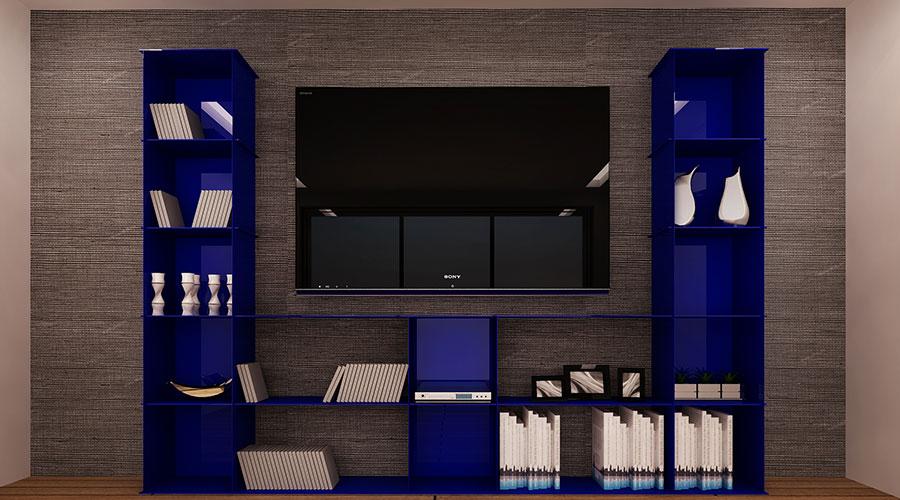 OTZ Living Room Multimedia Ultramarine Blue