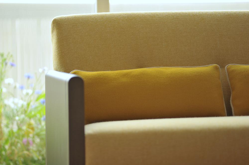 Resident Sofa upholstered in Hallingdal Kvadrat