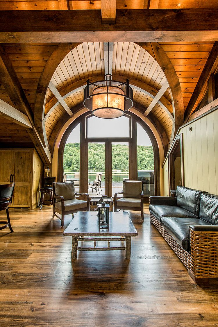Revamped cottage brings beautiful gables and classic architectural features indoors