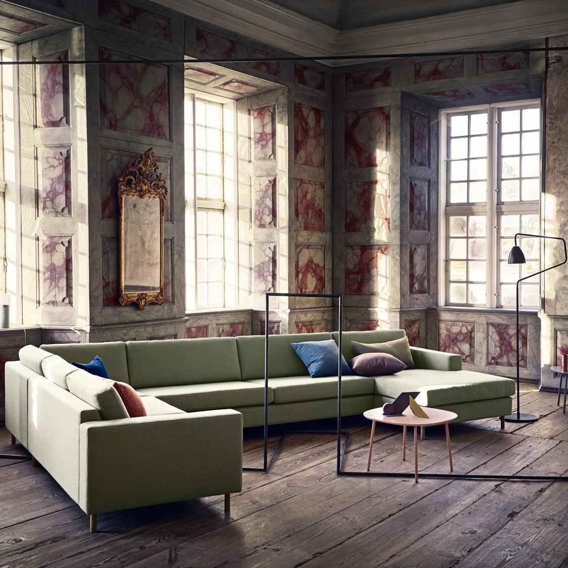 Scandinavia corner sofa