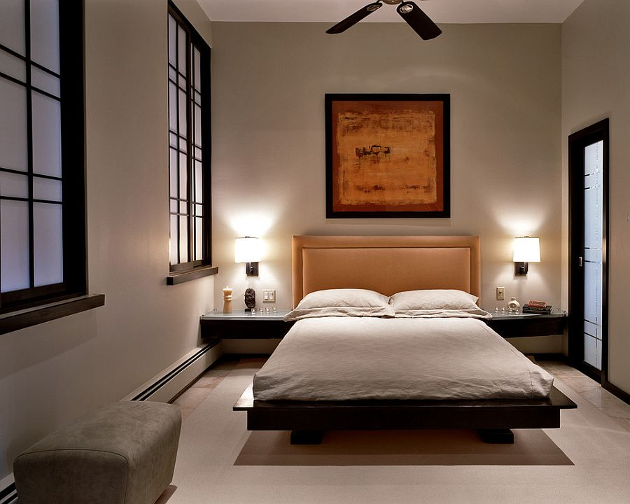 Zen bedroom is all about beautiful balance of elements