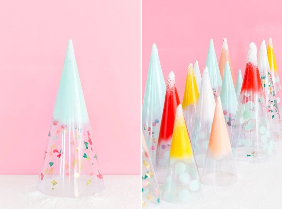 DIY Christmas trees from Sugar & Cloth