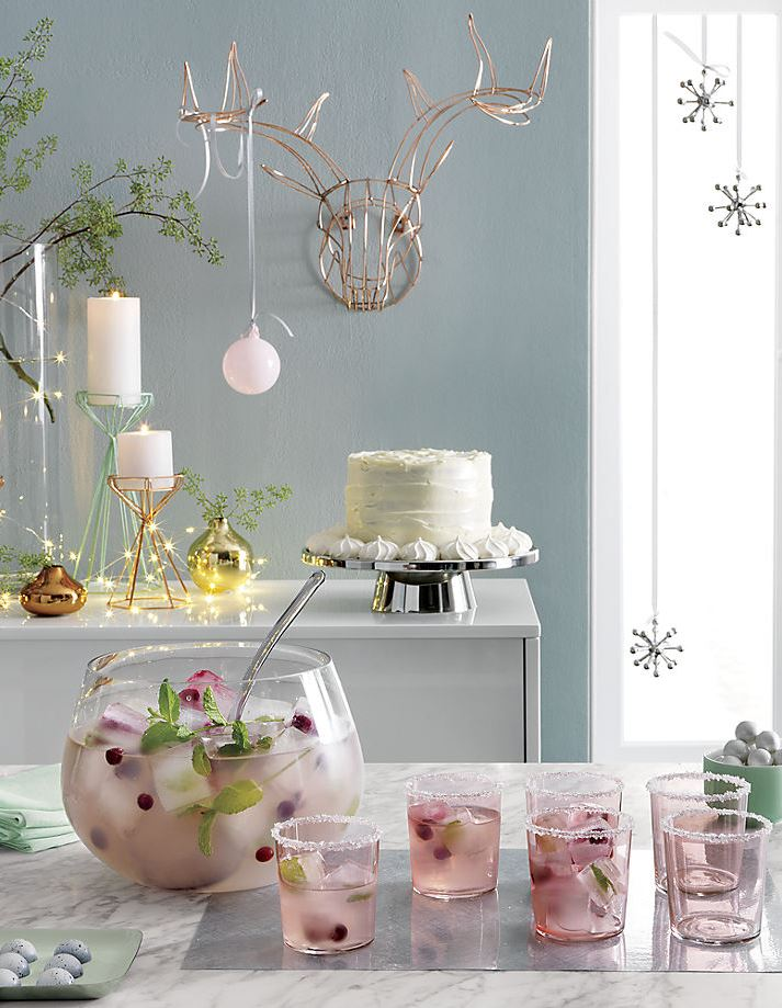 Delicious holiday style in product photography from CB2
