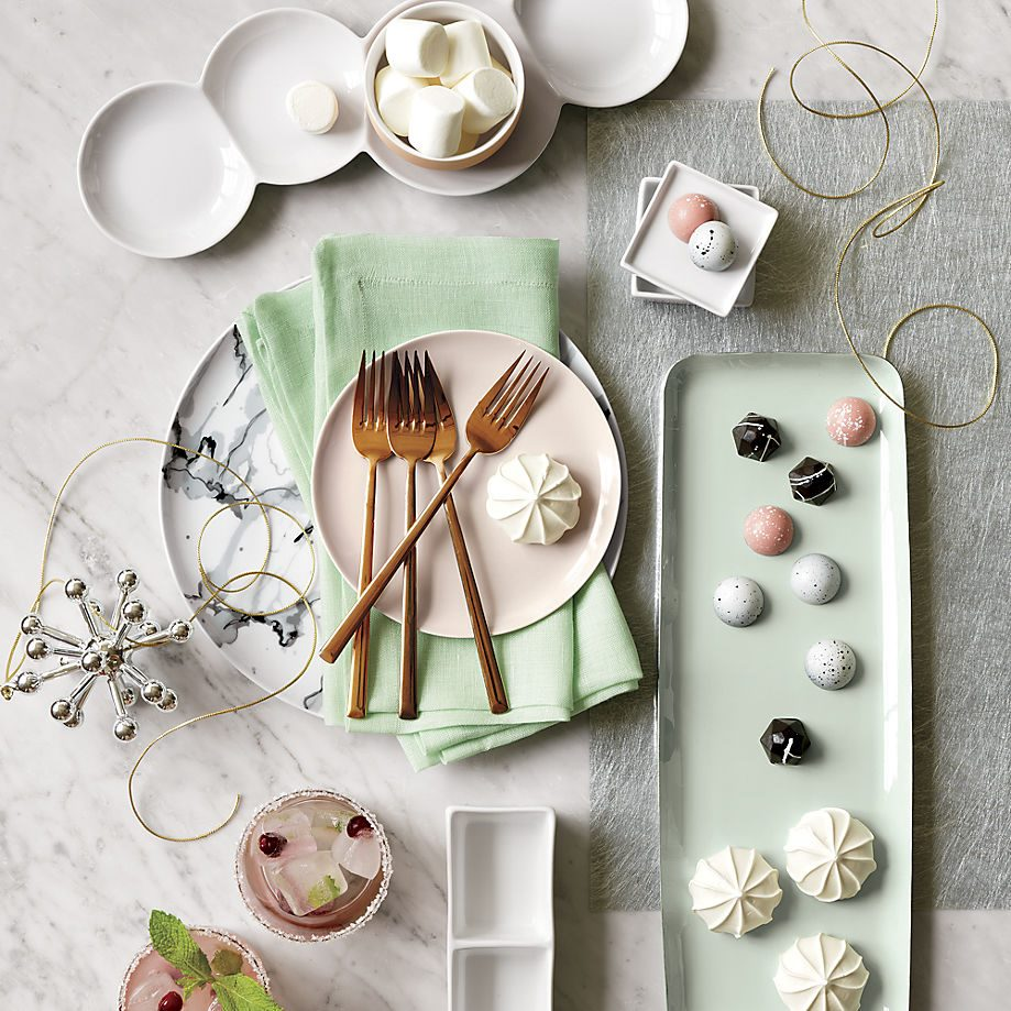 Enchanting holiday sweets in a photo by CB2