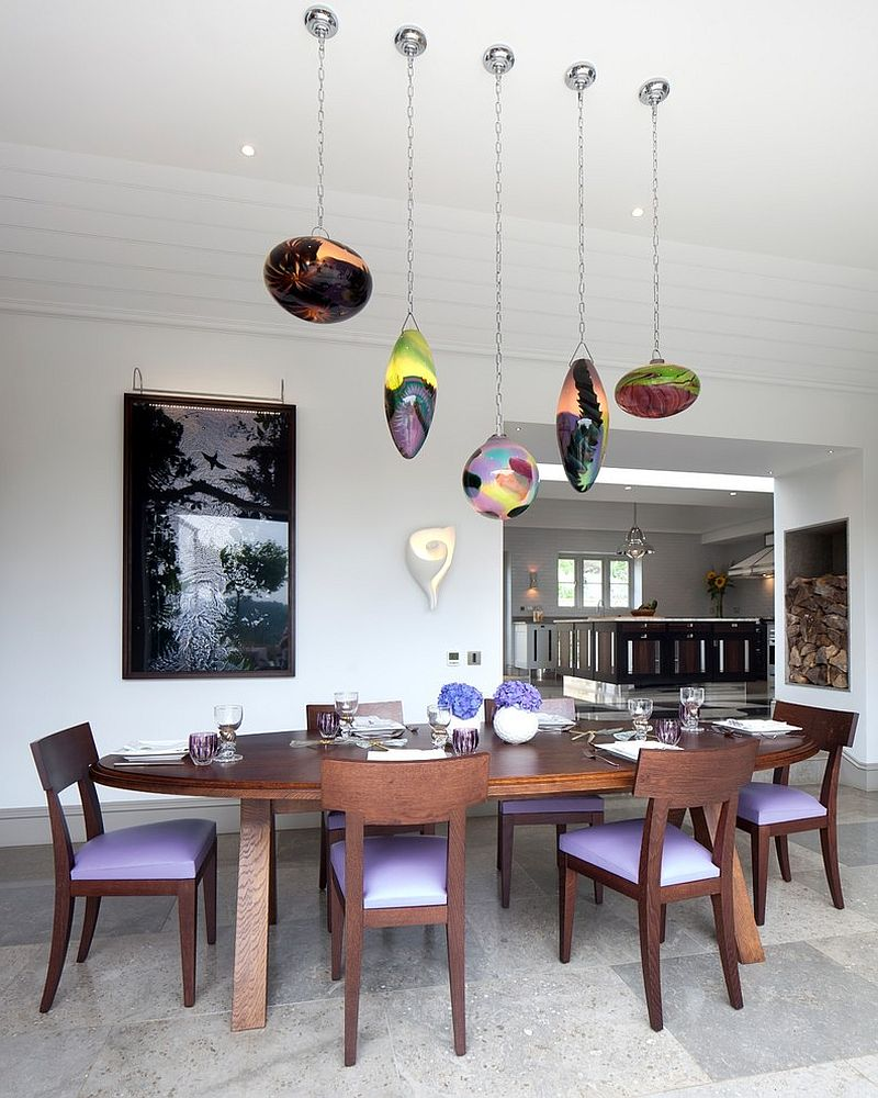 21 Daring Dining Room Ideas: Dazzling Feast: 21 Creatively Fun Ways To Light Up The