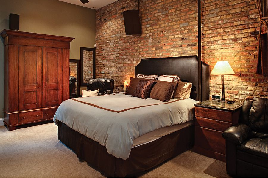 Unearth and showcase that original brick wall in the bedroom [Design: Sexton Development]