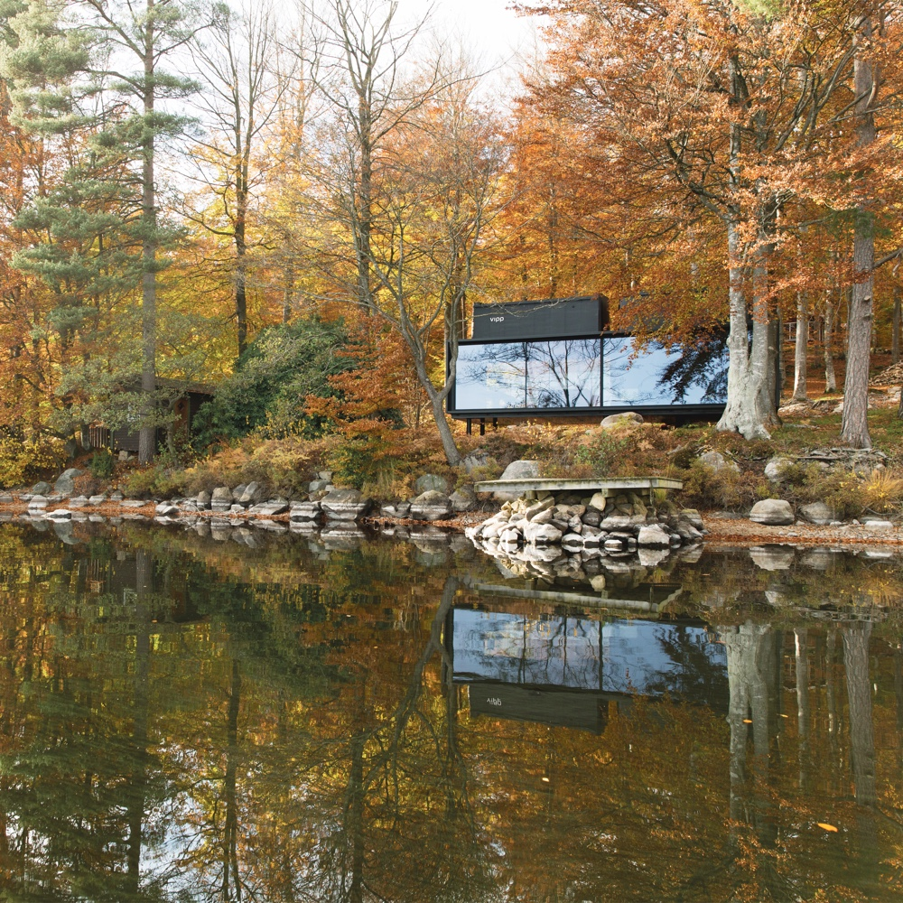 Vipp Shelter by lake
