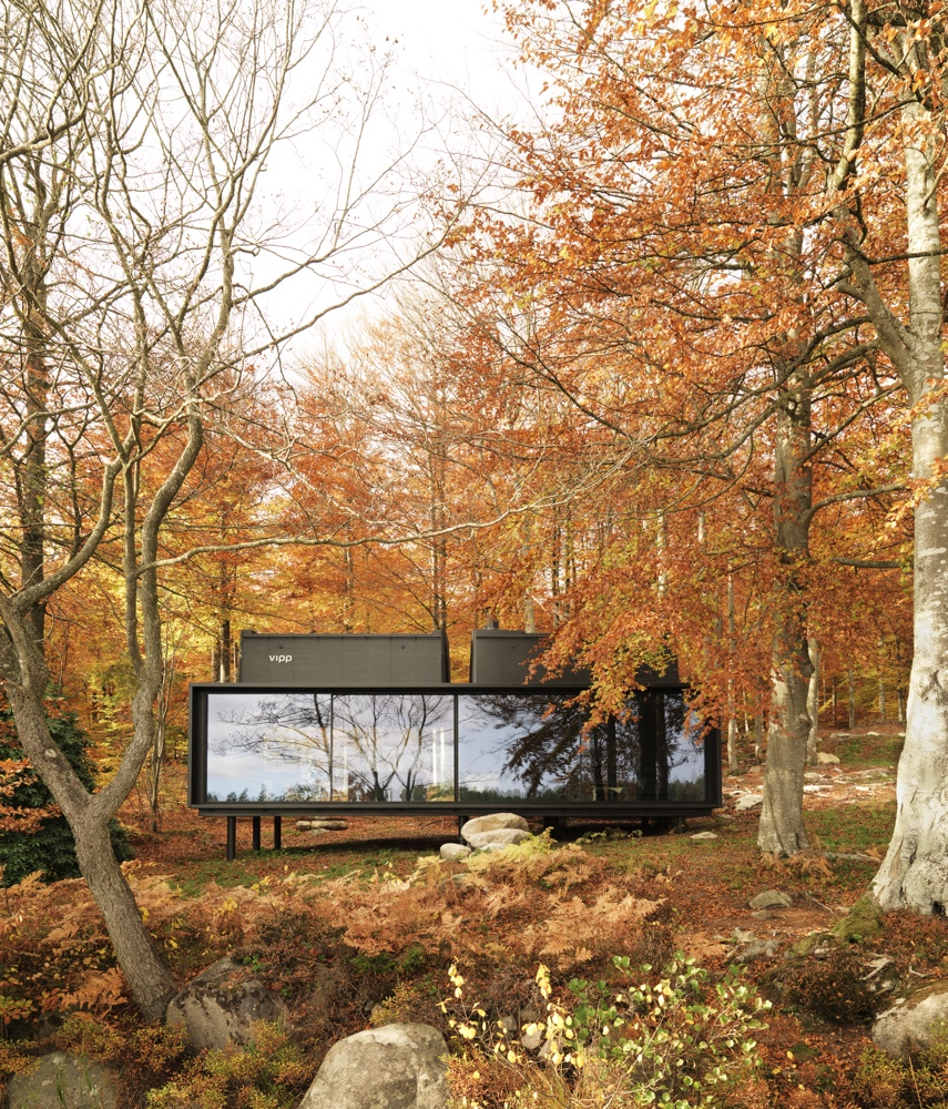 Vipp Shelter in Autumn